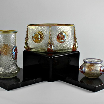 Loetz Nautilus - Art Glass