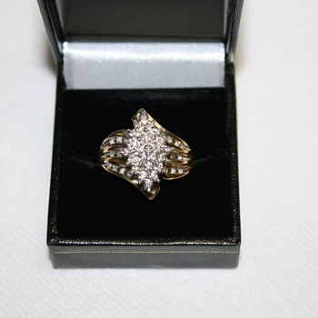 Mom's Antique Diamond Ring