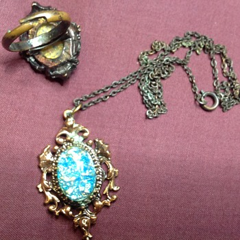 ring and necklace - Fine Jewelry