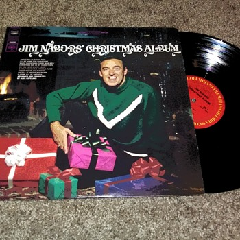 'The Jim Nabors Christmas Album'...On 33 1/3 RPM Vinyl - Christmas
