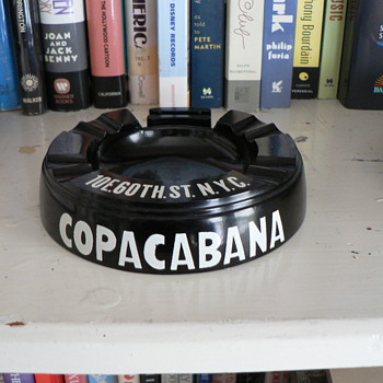 Copacabana night club ashtray. - Tobacciana