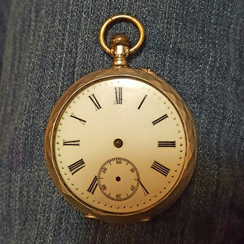 Remontoir 10 Ruby  Sterling pocket watch - Pocket Watches