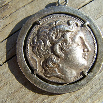 Old Roman Coin Pendent ??? - World Coins