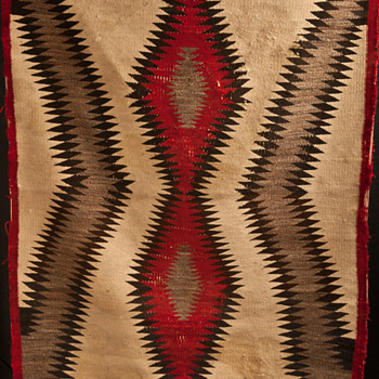 1940's Navajo Rug - Native American
