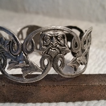 Victorian Era Silver Bracelet - Fine Jewelry
