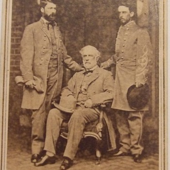 Iconic Robert E. Lee Civil War CDV - Photographs
