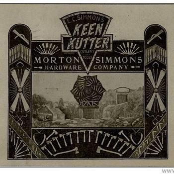 1911 Keen Kutter Postcard