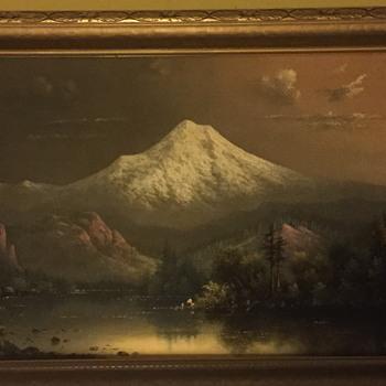 Original oil by Eliza barchus  - Fine Art