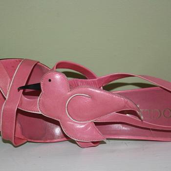 Roger Vivier bird sandals