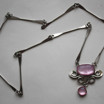 An interesting necklace, possibly silver - Fine Jewelry