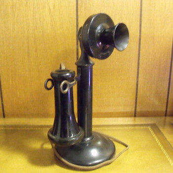 My Candlestick phone