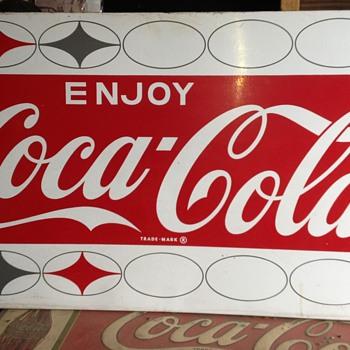 Coca Cola machine panel - Coca-Cola