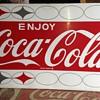 Coca Cola machine panel