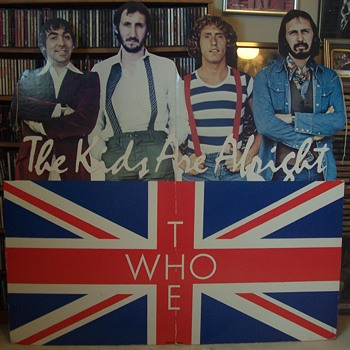 The Who! Cardboard Promo! - Music Memorabilia