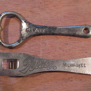 Some beer openers I enjoy finding and showing.