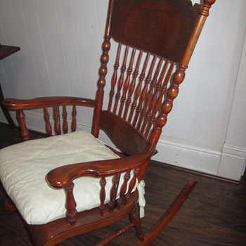 rocking chair puzzle - Furniture