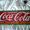 My 1939 belgian porcelain coke sign