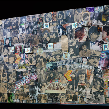 My Beatles Collage from the 60's - Music Memorabilia