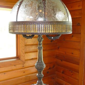 Mysterious Slag Lamp