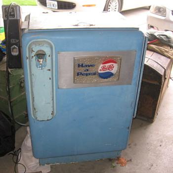 Pepsi Cola Machine  - Coin Operated