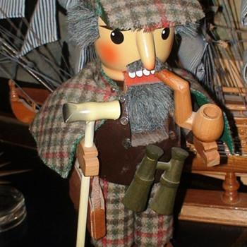 Sherlock Holmes Nutcracker Steinbach  - Christmas
