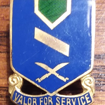 137th Infantry Regiment DUI - Military and Wartime