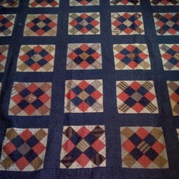 Does anyone Know the Age of this Quilt? - Rugs and Textiles