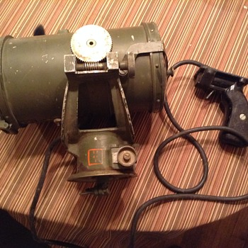 VINTAGE SIGNAL LAMP WW 2 ? - Military and Wartime
