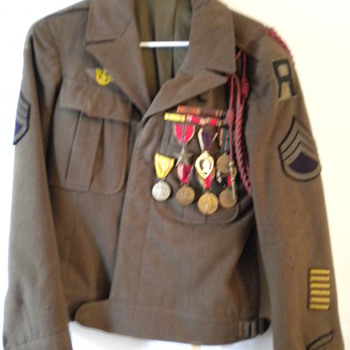 World War II  jacket - Military and Wartime