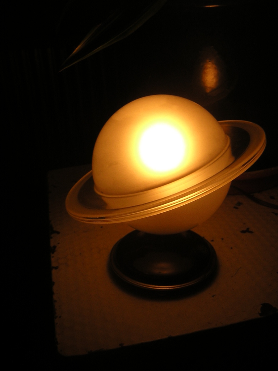 Another Art Deco Saturn Lamp | Collectors Weekly