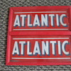 ATLANTIC GAS PUMP ADD GLASS, ORIGINAL