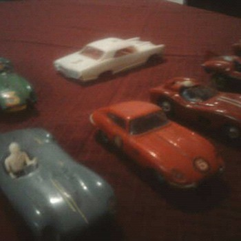 Old slot cars...  Strombecker, Eldon ect. - Model Cars