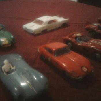 Old slot cars...  Strombecker, Eldon ect.
