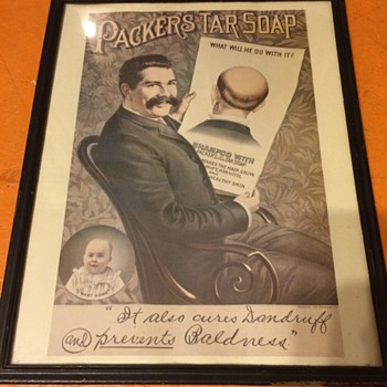 1890's poster ads and trade cards