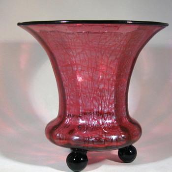 Loetz Ausführung 134 Ball-footed vase - Art Glass