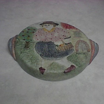 ITALIAN CERAMIC WALL PLAQUE - Pottery