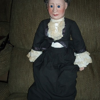 Unknown 24 Inch Doll Make In England