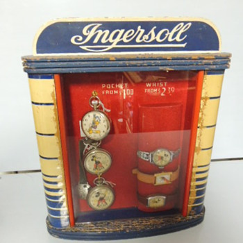 Ingersoll Watch display - Wristwatches