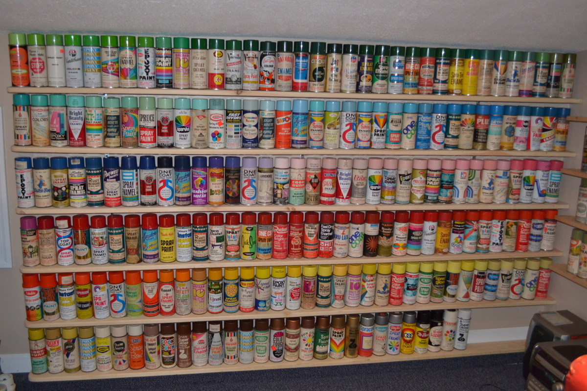 Vintage Spray Paint Cans For Sale