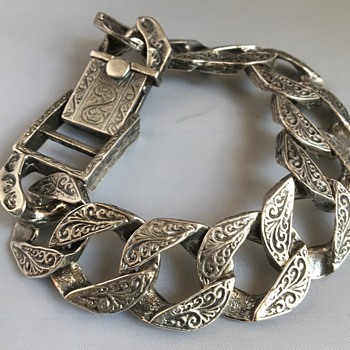 Vintage silver bracelet  - Fine Jewelry
