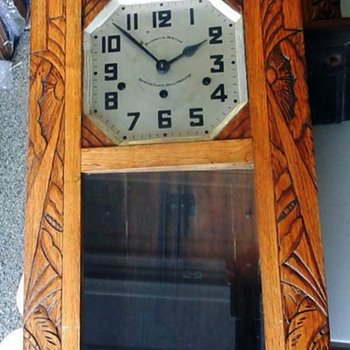 Another Art Deco Kienzle Box (Wall) Clock - Clocks