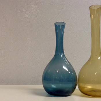 Scandinavian Glass Vases - Art Glass