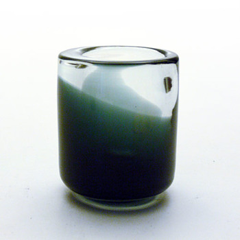 Vase or cigarette holder, Per Lütken (Holmegaard) - Art Glass
