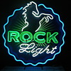 Rolling Rock Light Neon Sign