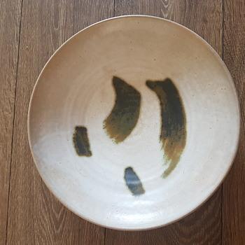 glazed ceramic plate studio pottery - Pottery