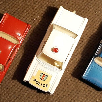 Perfectly Patriotic Police Pairing Matchbox Monday - Model Cars