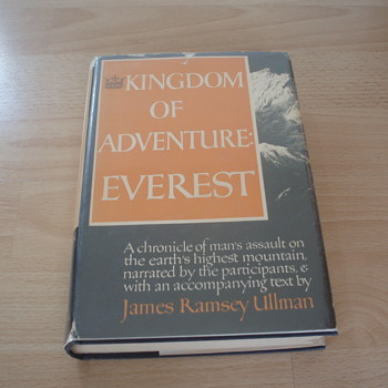 KINGDOM OF ADVENTURE EVEREST 1947 JAMES RAMSEY ULLMAN