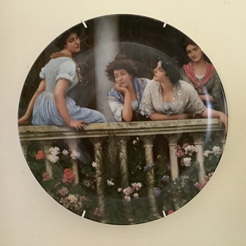 Limoges art nouveau plate - China and Dinnerware