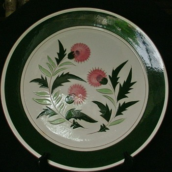 "Stangl Pottery 12"" Platter ( Thistle Pattern ) - China and Dinnerware"