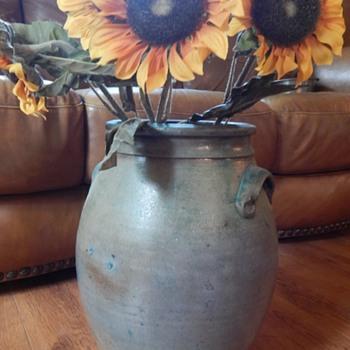 green pot - Pottery